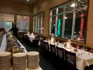 Rehearsal Dinner (below mezzanine)